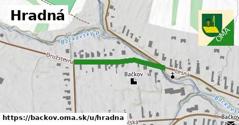 ilustrácia k Hradná, Bačkov - 268m