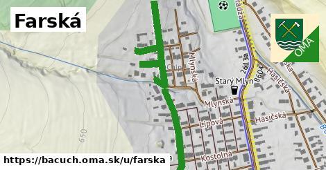 ilustrácia k Farská, Bacúch - 231m