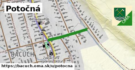ilustrácia k Potočná, Bacúch - 225m