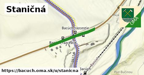 ilustrácia k Staničná, Bacúch - 249m
