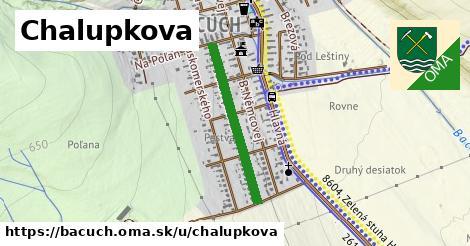 ilustrácia k Chalupkova, Bacúch - 524m