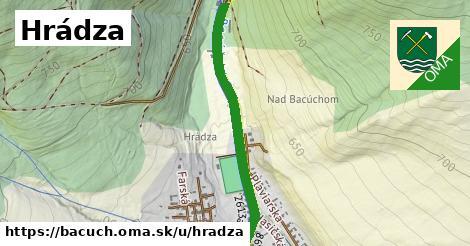 ilustrácia k Hrádza, Bacúch - 229m