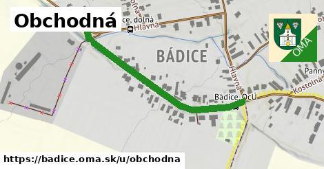 ilustrácia k Obchodná, Bádice - 438m