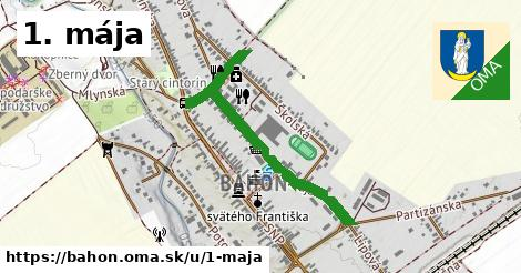 ilustračný obrázok k 1. mája, Báhoň