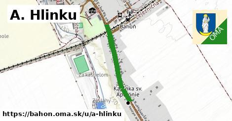 ilustrácia k A. Hlinku, Báhoň - 638m
