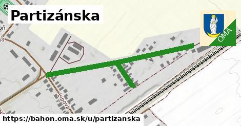 ilustrácia k Partizánska, Báhoň - 557m