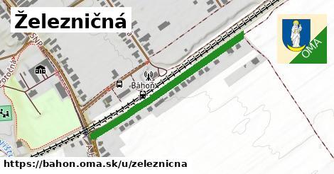 ilustrácia k Železničná, Báhoň - 410m