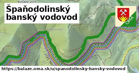 ilustrácia k Špaňodolinský banský vodovod, Baláže - 2,6km