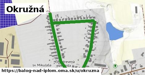 ilustrácia k Okružná, Balog nad Ipľom - 0,83km
