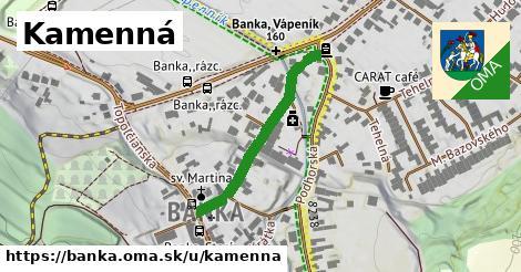 ilustrácia k Kamenná, Banka - 298m