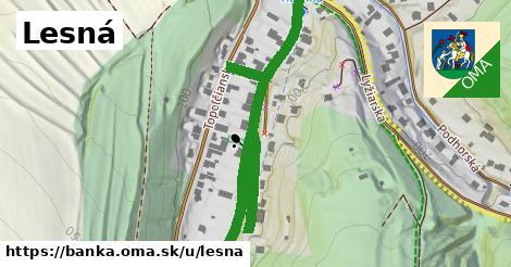 ilustrácia k Lesná, Banka - 633m