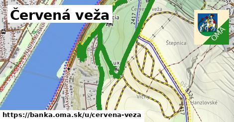 ilustrácia k Červená veža, Banka - 2,7km