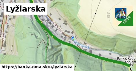 ilustrácia k Lyžiarska, Banka - 0,77km