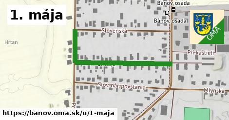 ilustrácia k 1. mája, Bánov - 313m