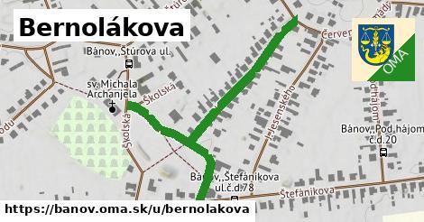 ilustrácia k Bernolákova, Bánov - 422m