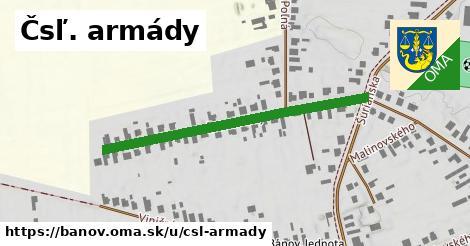 ilustrácia k ČSĽ Armády, Bánov - 436m