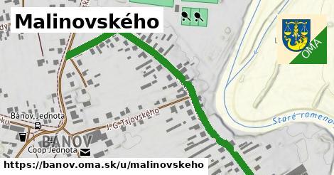 ilustrácia k Malinovského, Bánov - 1,45km