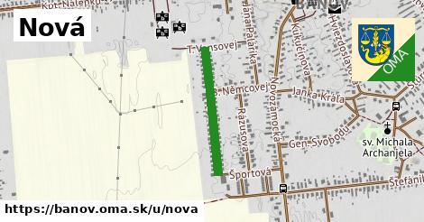 ilustrácia k Nová, Bánov - 459m
