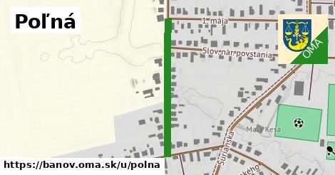 ilustrácia k Poľná, Bánov - 630m