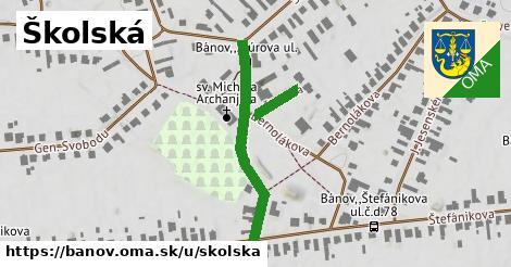ilustrácia k Školská, Bánov - 430m