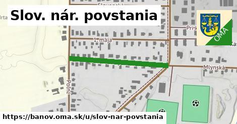 ilustrácia k Slov. nár. povstania, Bánov - 316m