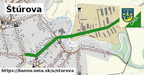 ilustrácia k Štúrova, Bánov - 1,10km