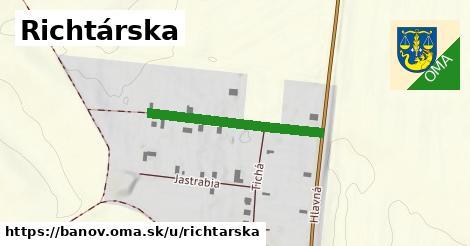 ilustrácia k Richtárska, Bánov - 284m