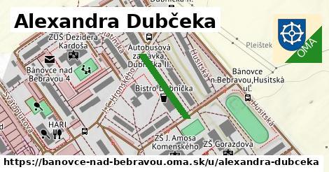 ilustračný obrázok k Alexandra Dubčeka, Bánovce nad Bebravou