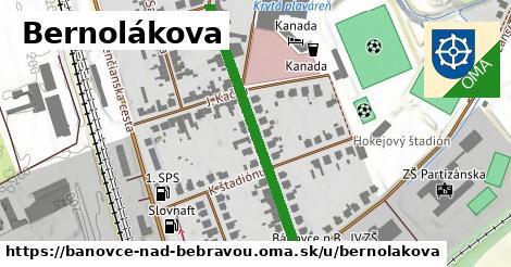 ilustrácia k Bernolákova, Bánovce nad Bebravou - 394m