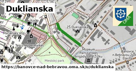 ilustrácia k Duklianska, Bánovce nad Bebravou - 180m