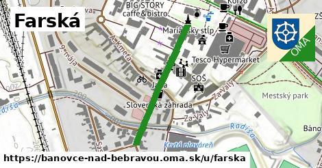 ilustrácia k Farská, Bánovce nad Bebravou - 304m
