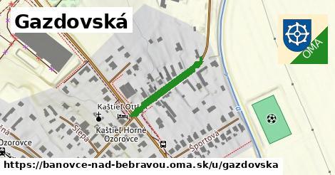 ilustrácia k Gazdovská, Bánovce nad Bebravou - 197m
