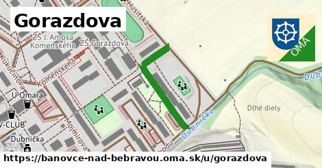 ilustračný obrázok k Gorazdova, Bánovce nad Bebravou