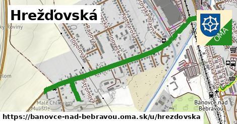 ilustračný obrázok k Hrežďovská, Bánovce nad Bebravou
