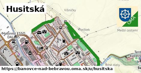 ilustračný obrázok k Husitská, Bánovce nad Bebravou