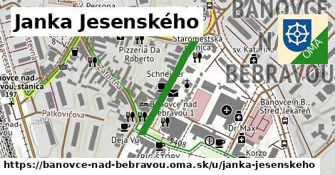 ilustrácia k Janka Jesenského, Bánovce nad Bebravou - 237m