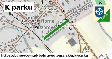 ilustrácia k K parku, Bánovce nad Bebravou - 206m