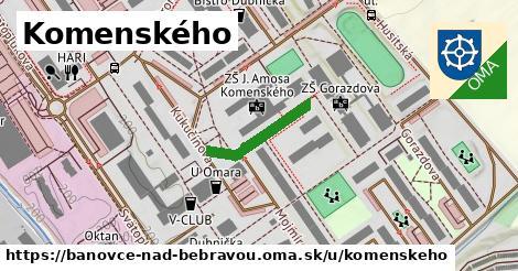 ilustrácia k Komenského, Bánovce nad Bebravou - 151m
