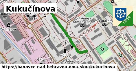 ilustrácia k Kukučínova, Bánovce nad Bebravou - 322m