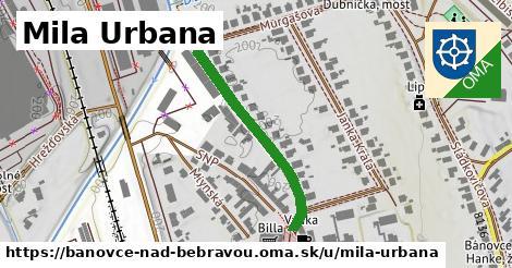 ilustračný obrázok k Mila Urbana, Bánovce nad Bebravou