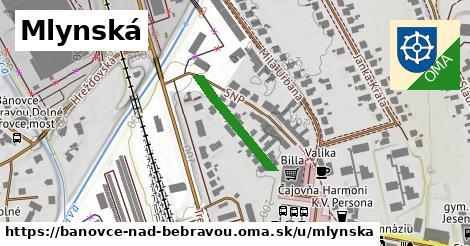 ilustrácia k Mlynská, Bánovce nad Bebravou - 190m