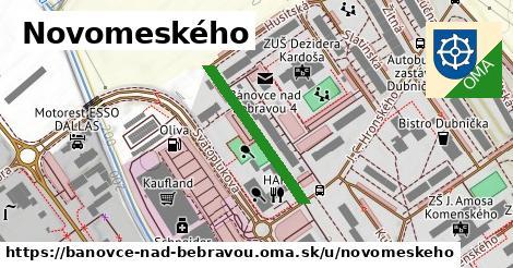 ilustračný obrázok k Novomeského, Bánovce nad Bebravou