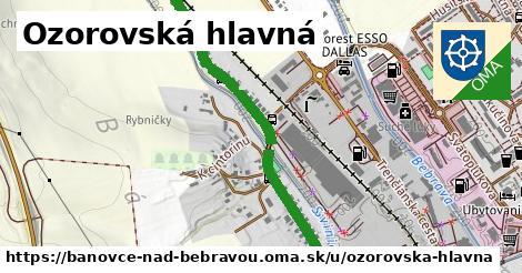ilustrácia k Ozorovská hlavná, Bánovce nad Bebravou - 1,64km