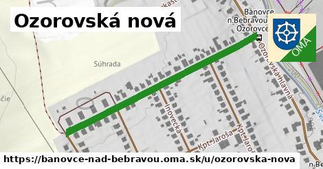 ilustračný obrázok k Ozorovská nová, Bánovce nad Bebravou