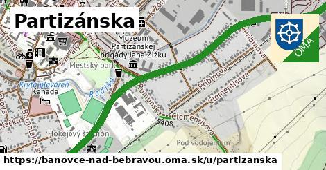 ilustračný obrázok k Partizánska, Bánovce nad Bebravou