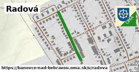 ilustračný obrázok k Radová, Bánovce nad Bebravou
