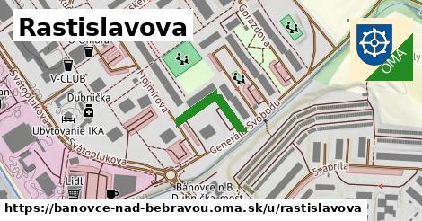 ilustračný obrázok k Rastislavova, Bánovce nad Bebravou