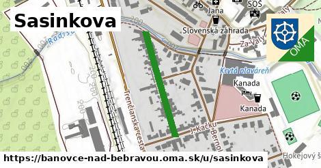 ilustrácia k Sásinkova, Bánovce nad Bebravou - 251m