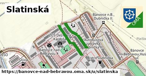 ilustračný obrázok k Slatinská, Bánovce nad Bebravou