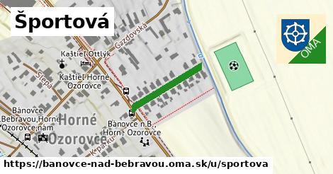 ilustrácia k Športová, Bánovce nad Bebravou - 182m
